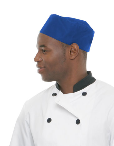 Mesh Top Chef Hat<br><b>New Color(s): Royal Blue & Charcoal</b>
