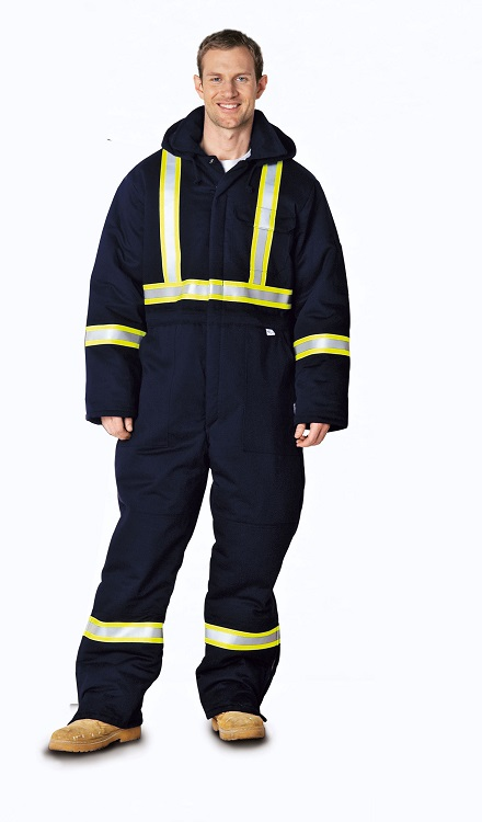 Indura® Ultra-Soft® Insulated Flame Resistant Coverall Worksuit